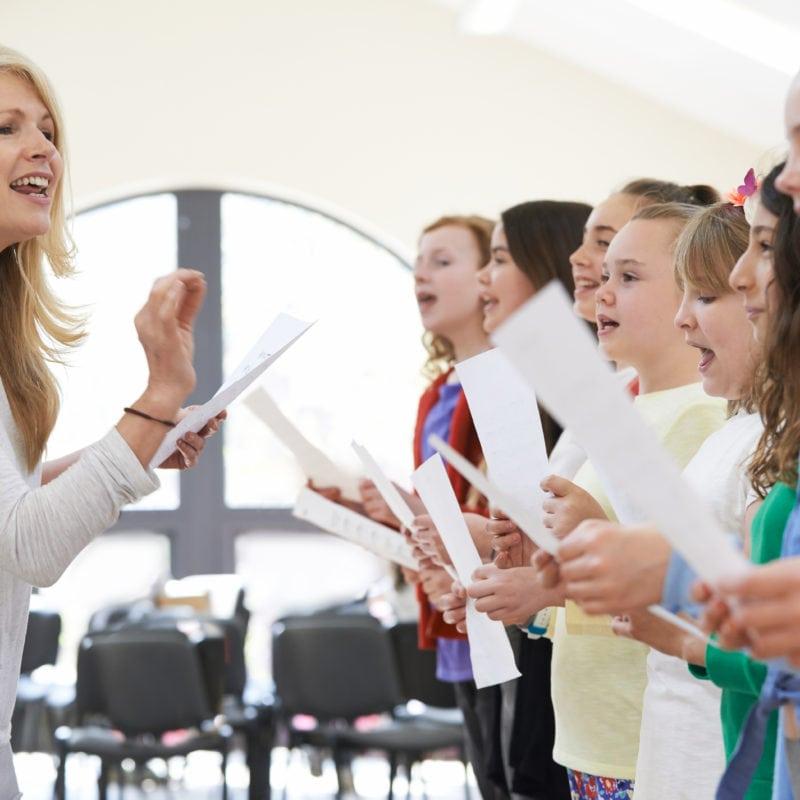 Cours de chant enfant Paris